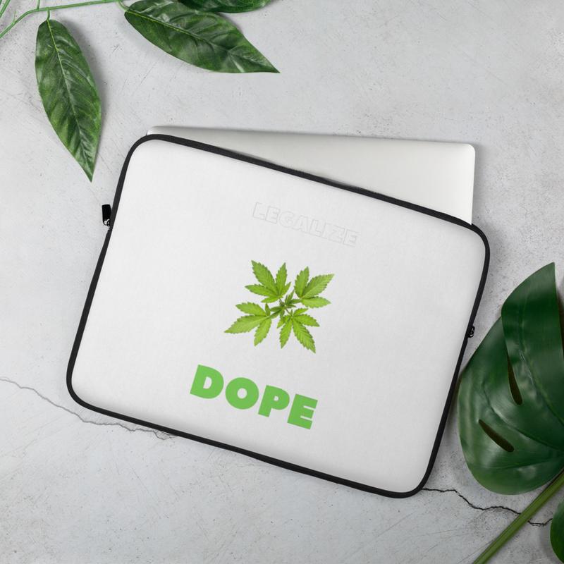 Legalize Dope Laptop Sleeve