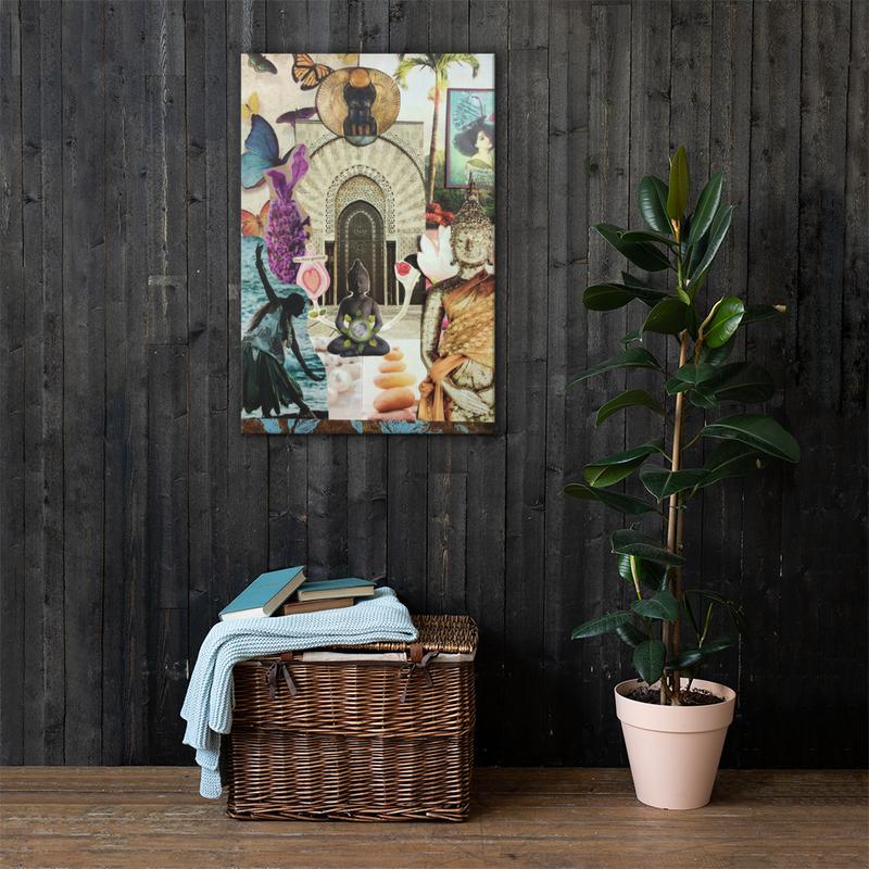 Stimmungsboard - Abundance - auf Canvas