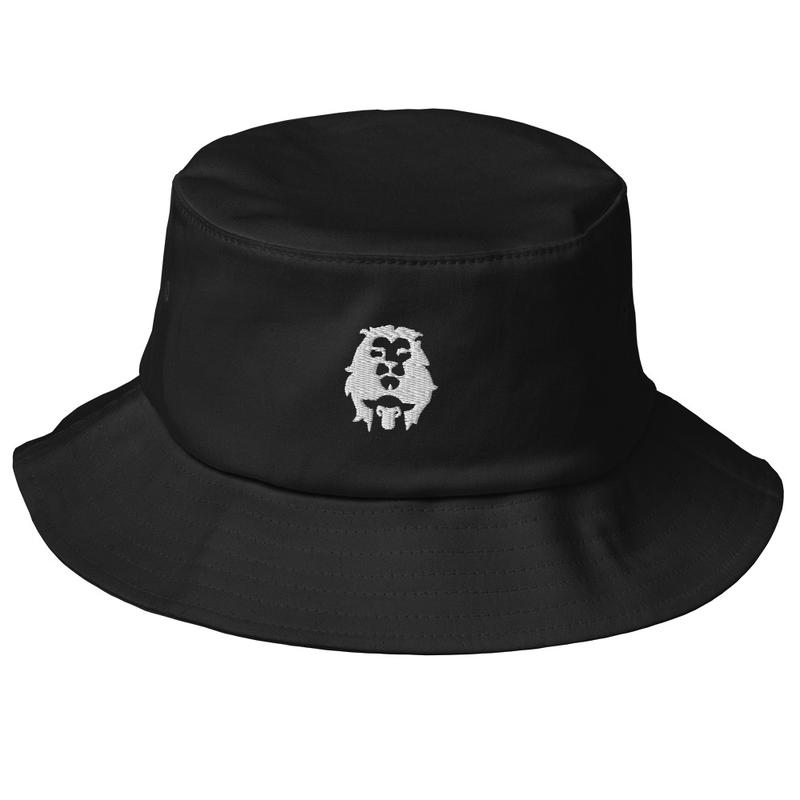 Lion & Lamb Old School Bucket Hat