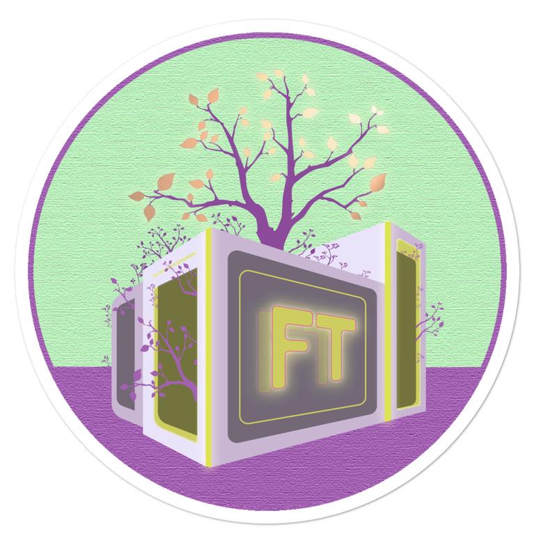 TreeVee Dandelion sticker