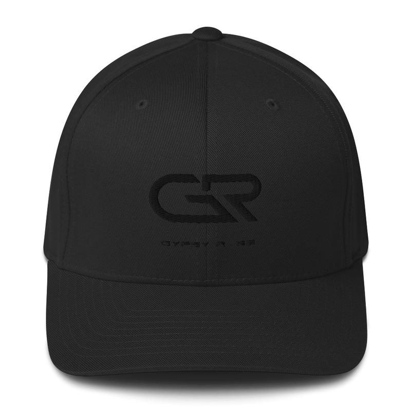 Cap Black Logo