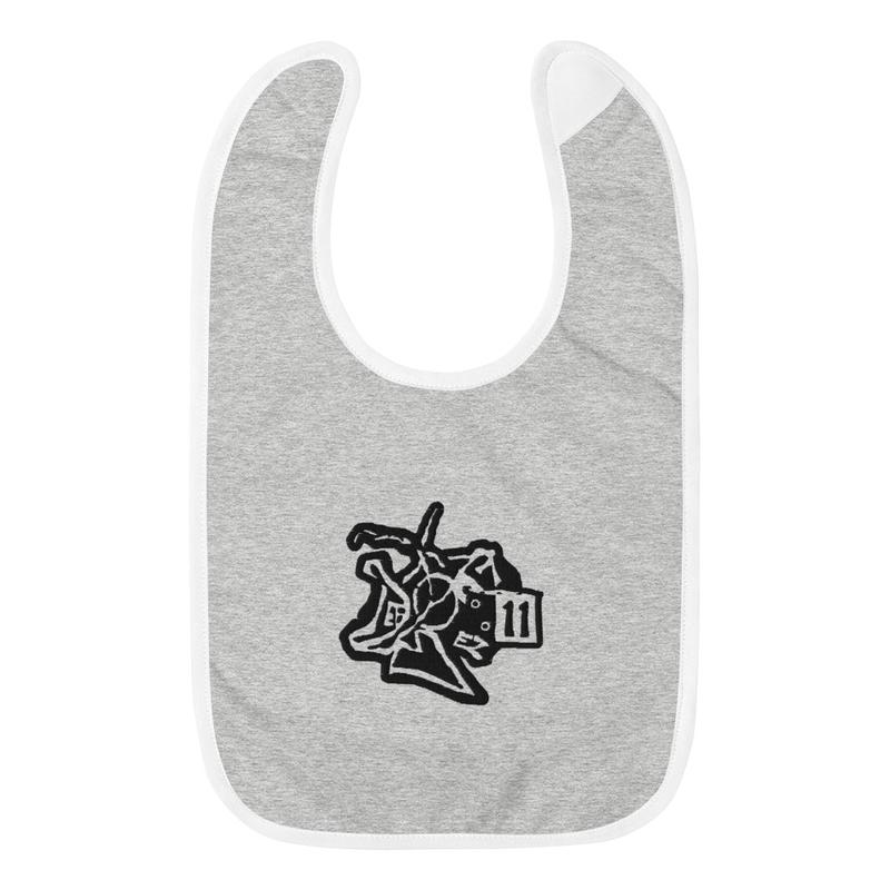 Embroidered Baby Bib DefBoyProductions LLC