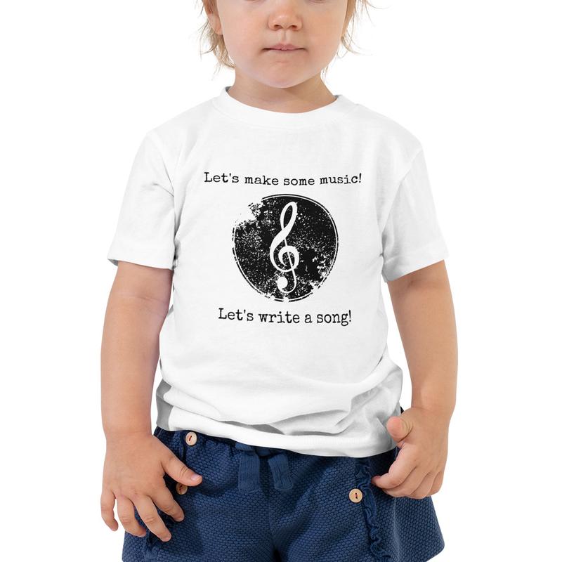 Let's Make Some Music- Toddler Tee