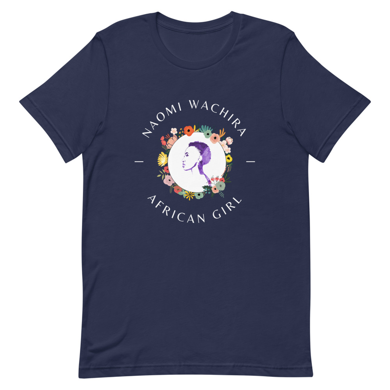 African Girl Short-Sleeve Unisex T-Shirt