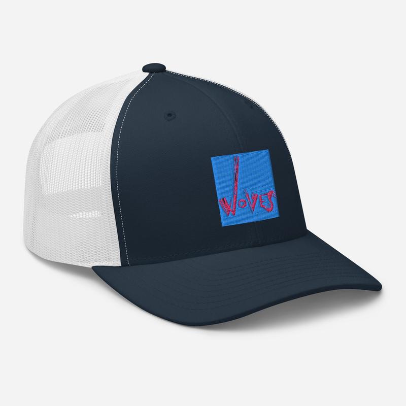 Trucker Cap (Woves - Blue Sky)
