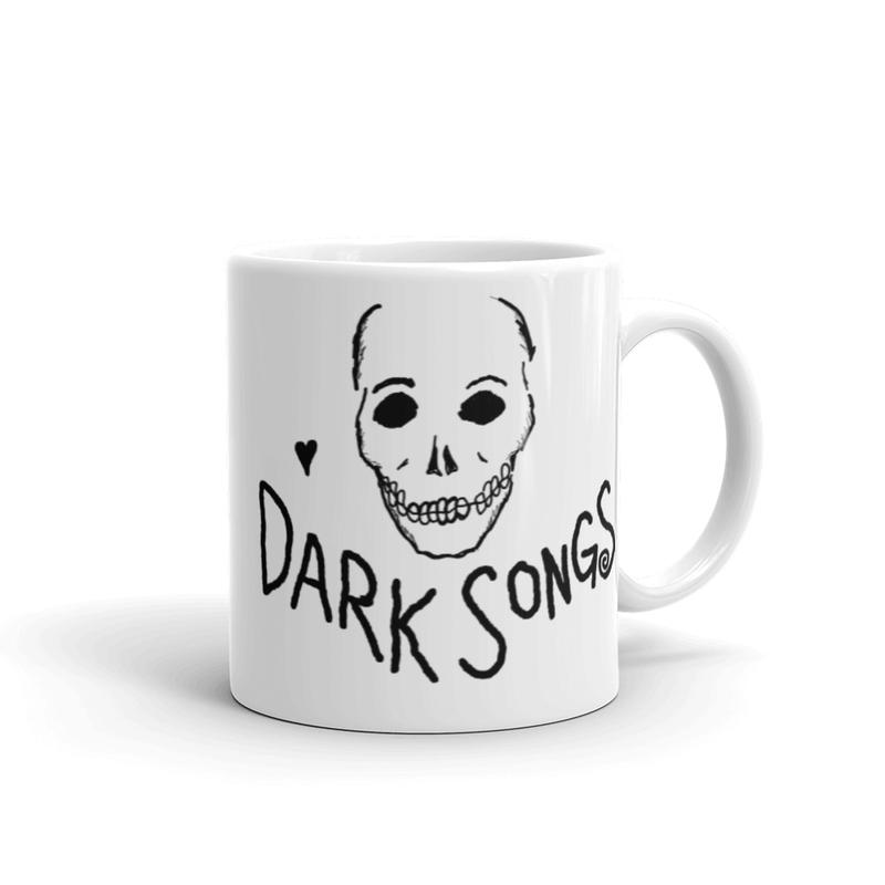 Dark Songs Skull Mug