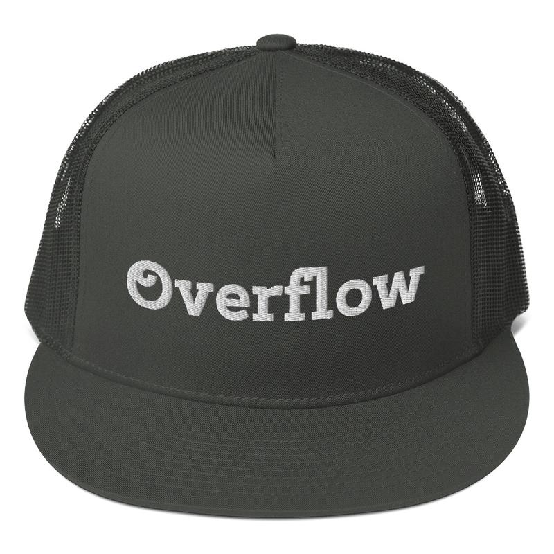 Overflow-Mesh Back Snapback