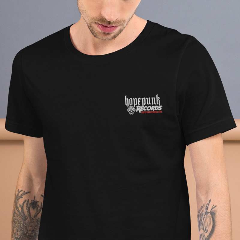 Short-Sleeve Unisex T-Shirt - HopePunk Records Embroidered