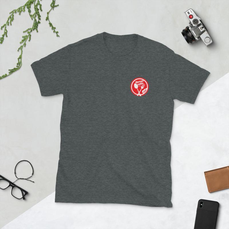 Tikman Natin Spoon Fork Short-Sleeve Unisex T-Shirt
