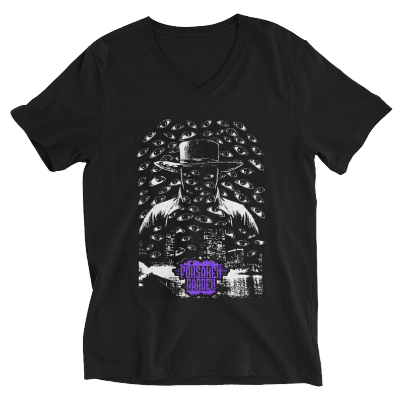 Unisex Short Sleeve V-Neck T-Shirt Forsaken Garden Outsider