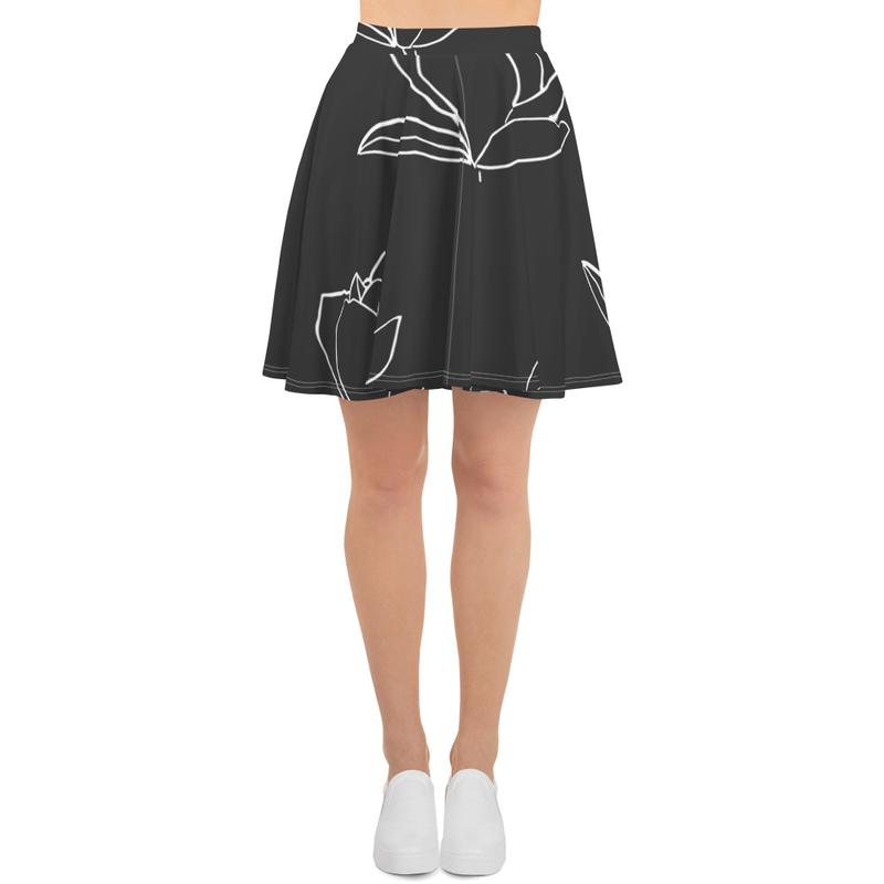 AHoney Magnolias Skater Skirt