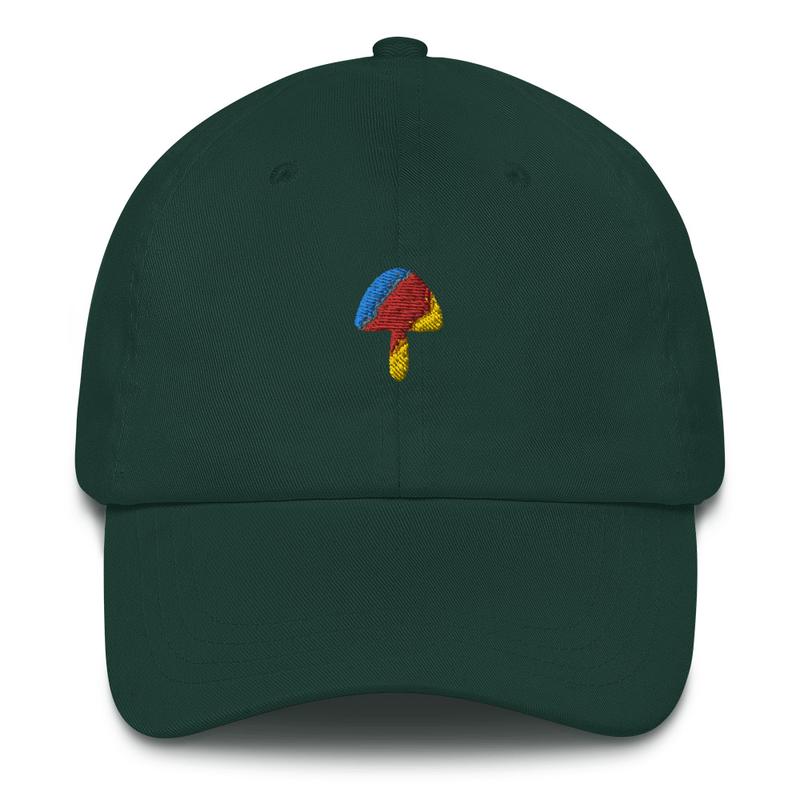 Multicolor Mushroom