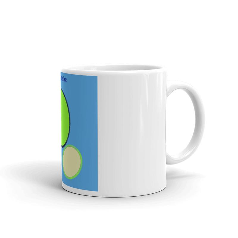 White glossy mug - Together