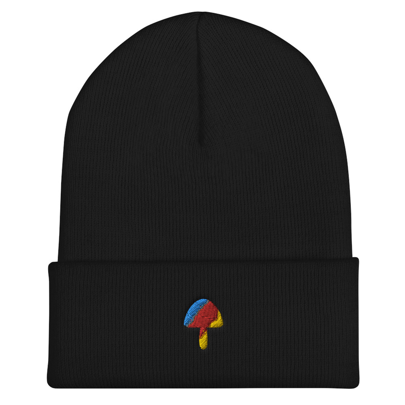 Multicolor Mushroom Winter Hat