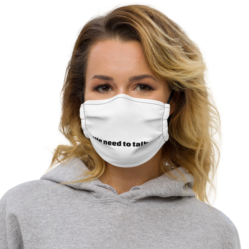 WNTT Face Mask (White)