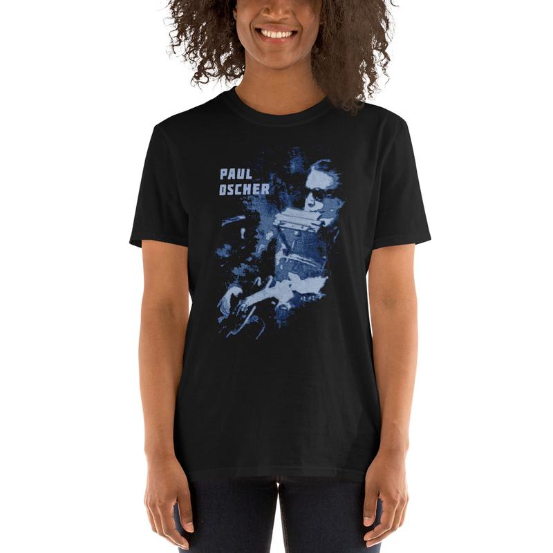 Paul Oscher Black & Blue shirt