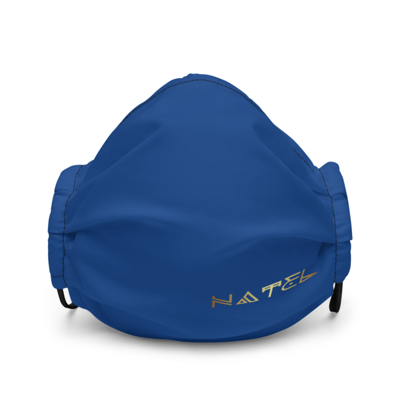 NATEL Premium face mask (Royal Blue)