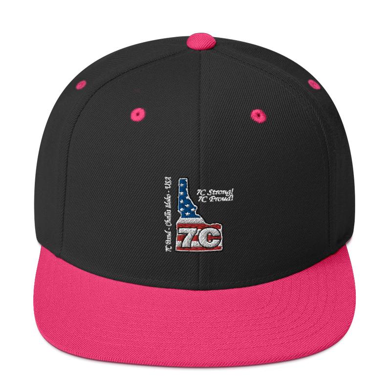 7C Band Snapback Hat