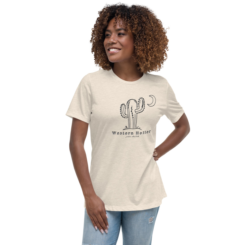 Western Holler Women's Relaxed Tee