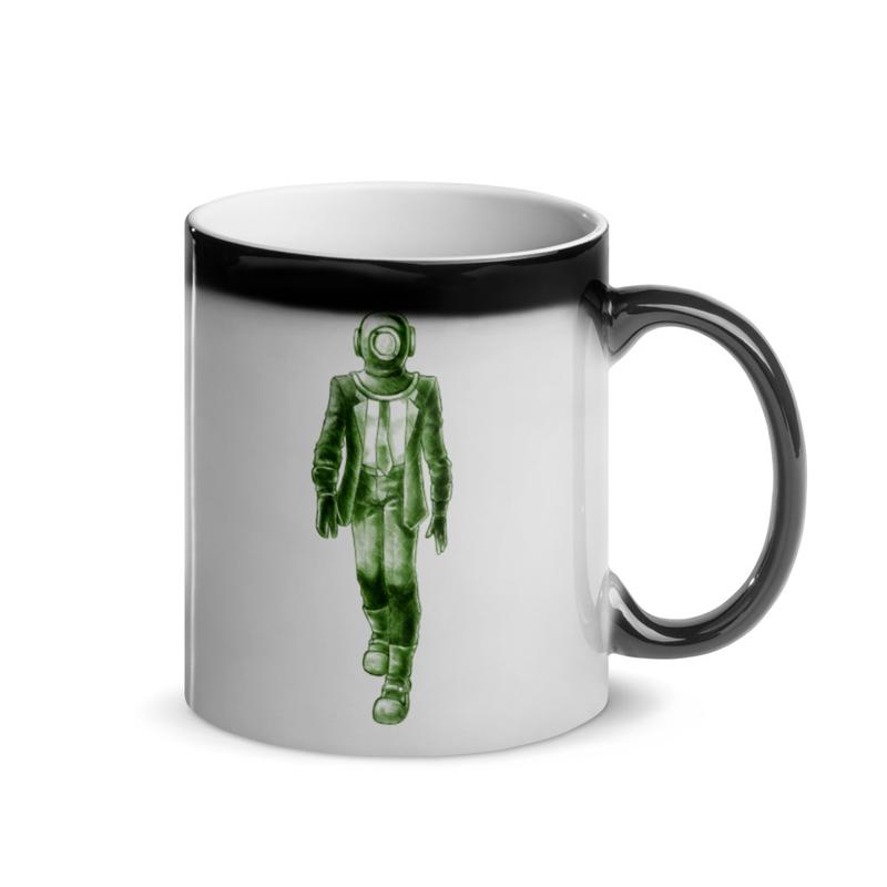 FROGMAN -  Magic Mug