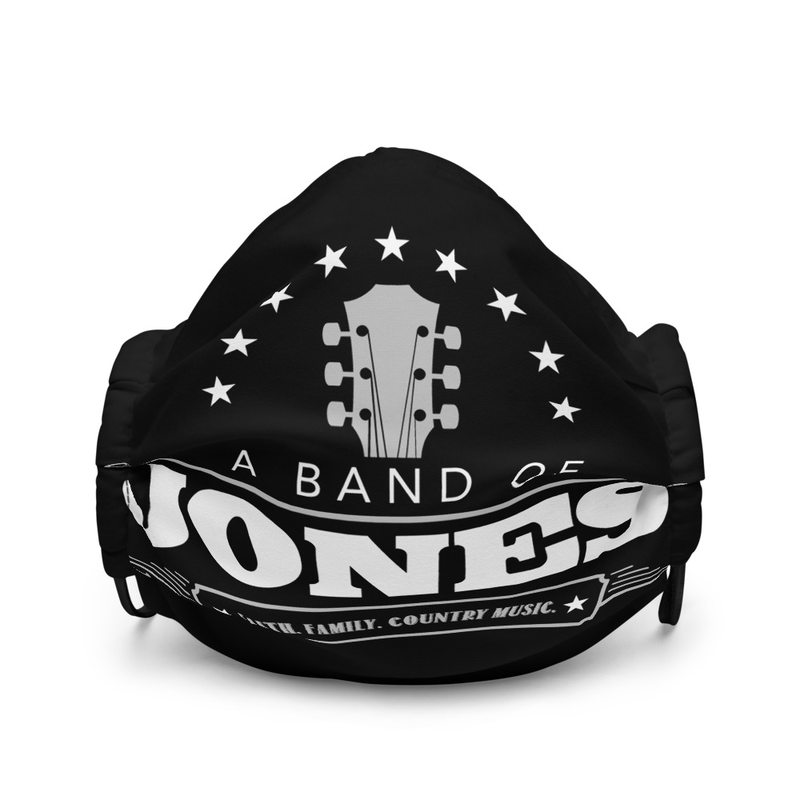 A Band of Jones face mask