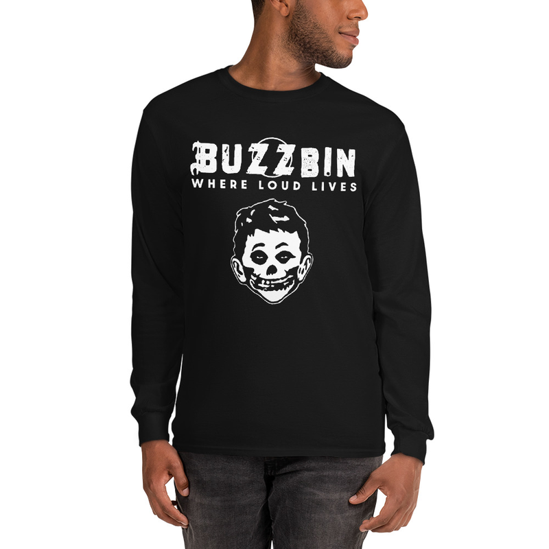 Buzzbin Mad Misfit Men's Long Sleeve Shirt