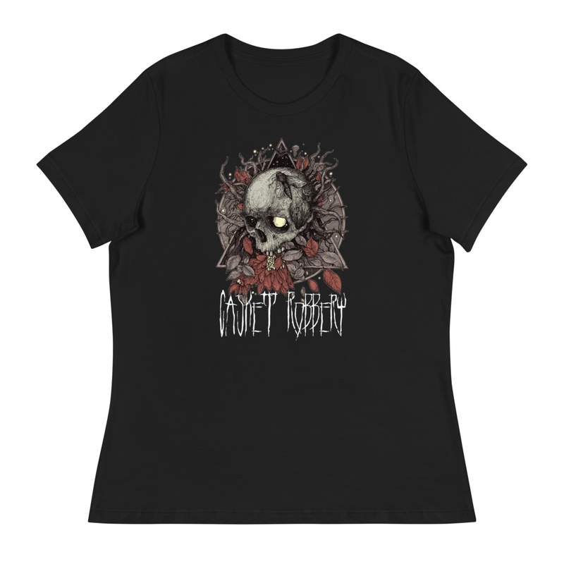 NEW! Women's Relaxed Fit Skull Tee