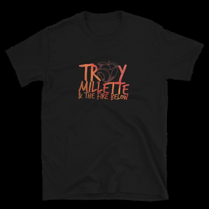 """""""Peachy As Folk"""" Logo Short-Sleeve Unisex T Shirt"""