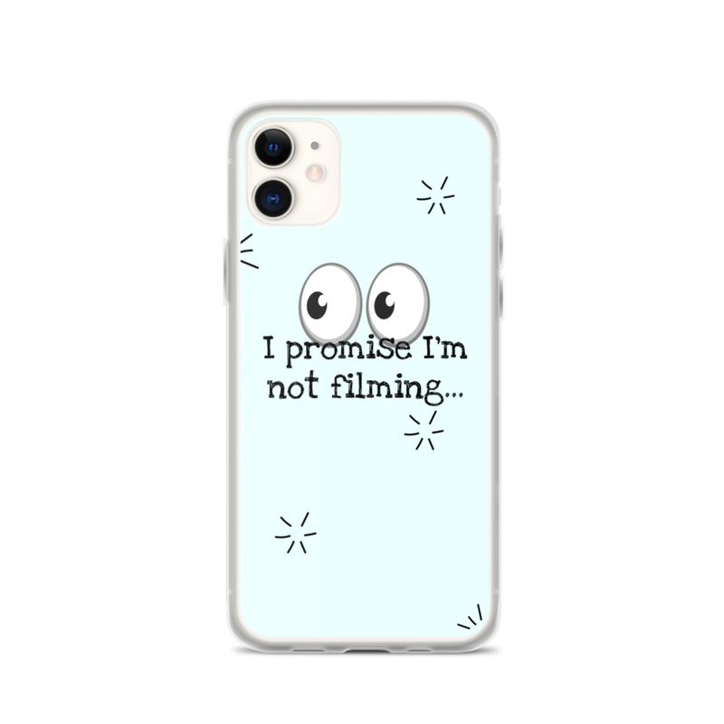 'Not Filming' iPhone Case