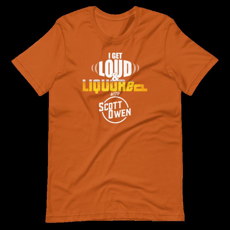 Loud & Liquored Short-Sleeve Unisex T-Shirt