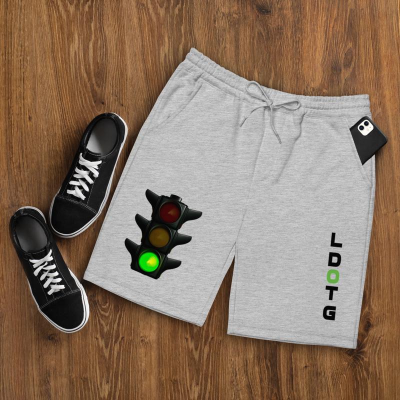 L Dot G Light Men's fleece shorts