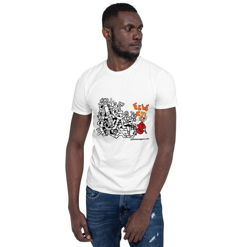 "Short-Sleeve Unisex T-Shirt ""Eclectico Art Cover"""