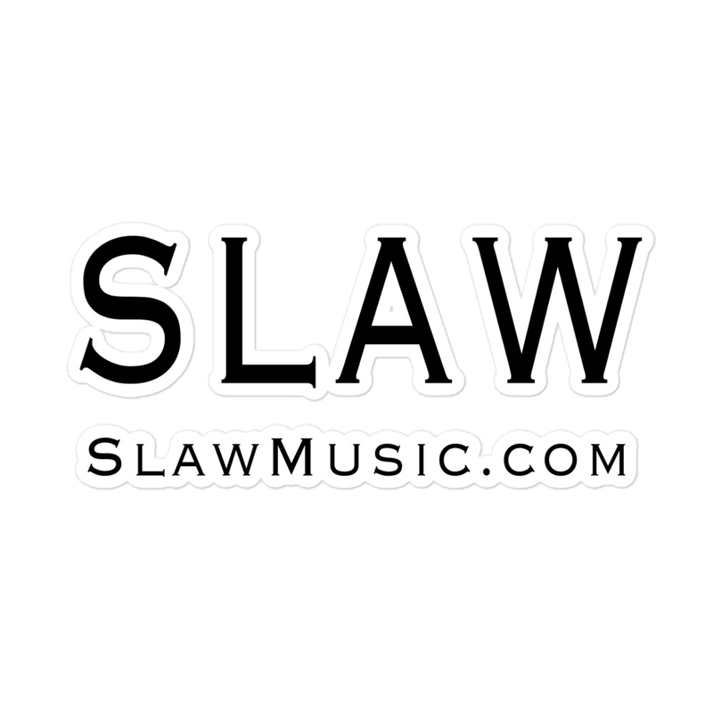 Slaw stickers (3 sizes available)