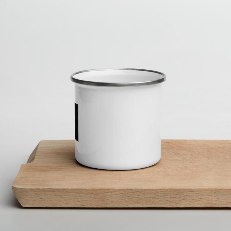 Toss and Turn Records Enamel Mug
