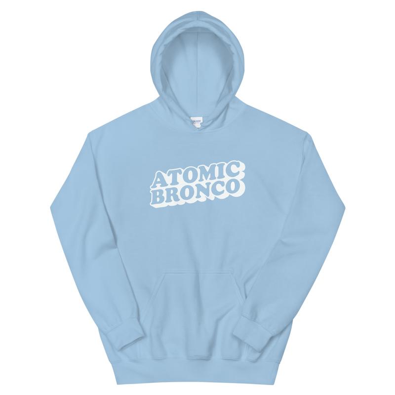 Atomic Bronco White Logo Hoodie
