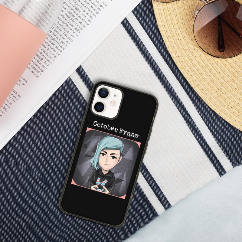 Deaf Non-Binary Trans Gamer (Mutual Aid Limited Edition) Biodegradable iPhone case (for all iPhone models)