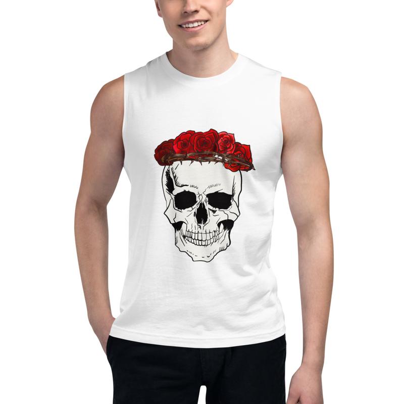 Thalia Gonzalez & Orion Corona De Rosas Muscle Shirt