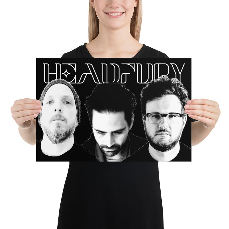 Poster - HEADFURY