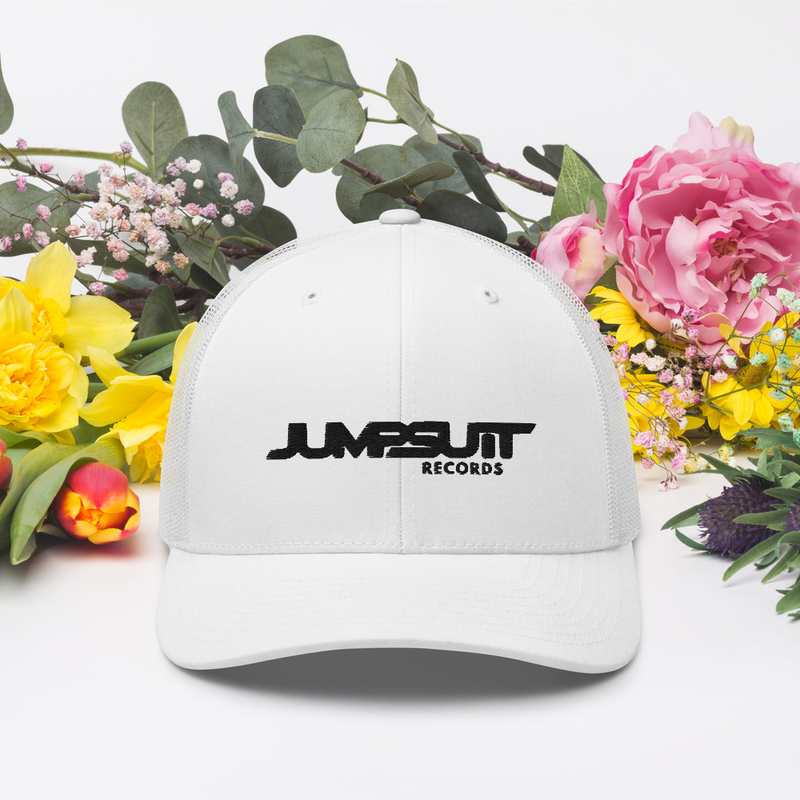 Jumpsuit Trucker Hat (White)