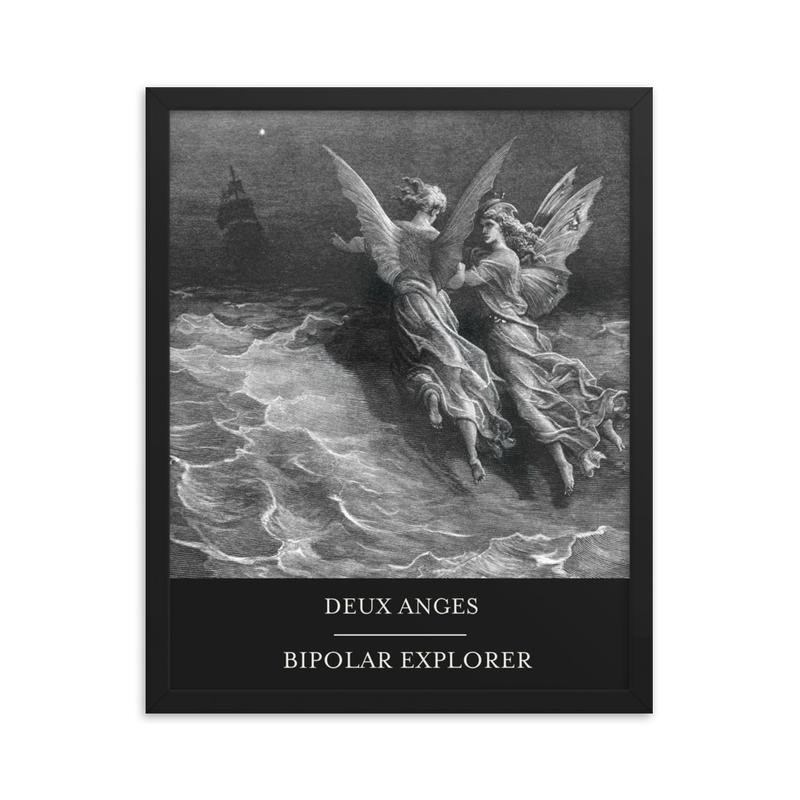 DEUX ANGES Framed poster