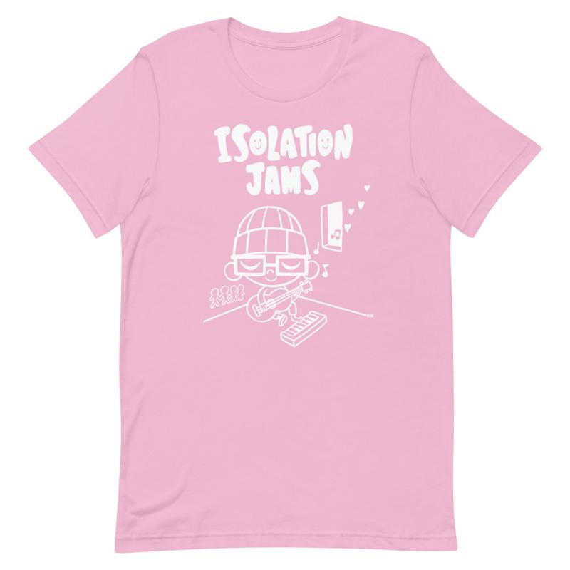 Rhode Montijo's Isolation Jams (White Design)