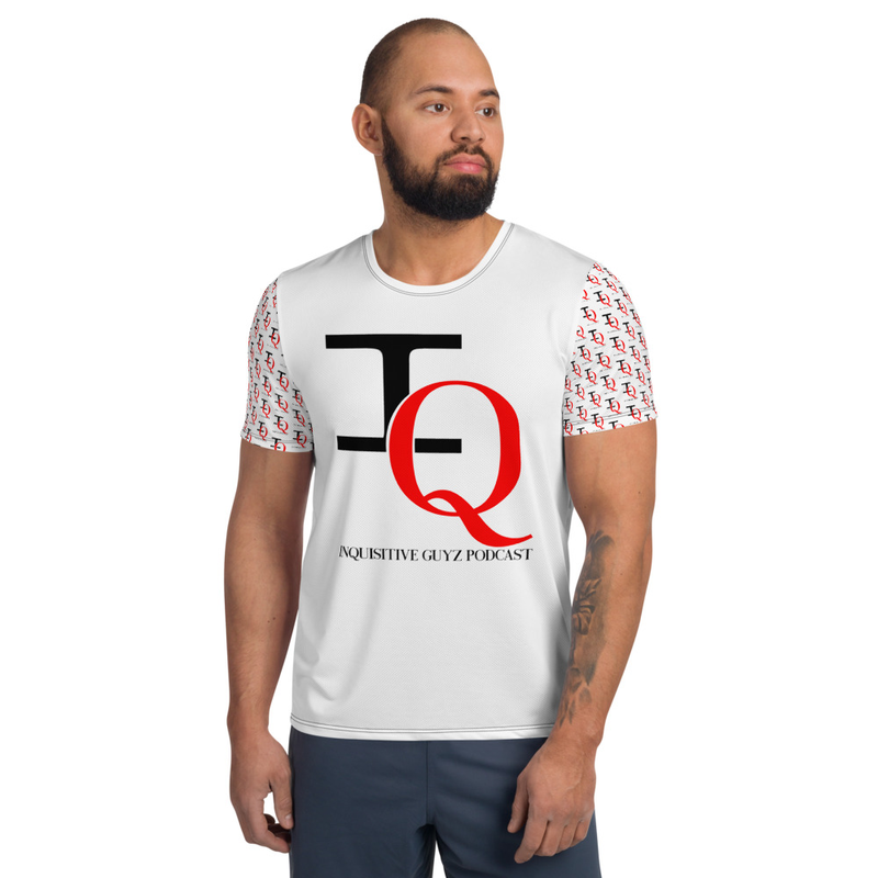 IQ Podcast Men's Athletic T-shirt