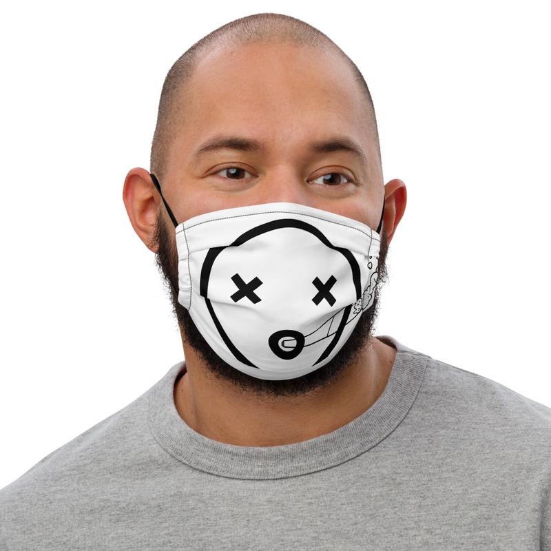 Premium face mask- Dead Face