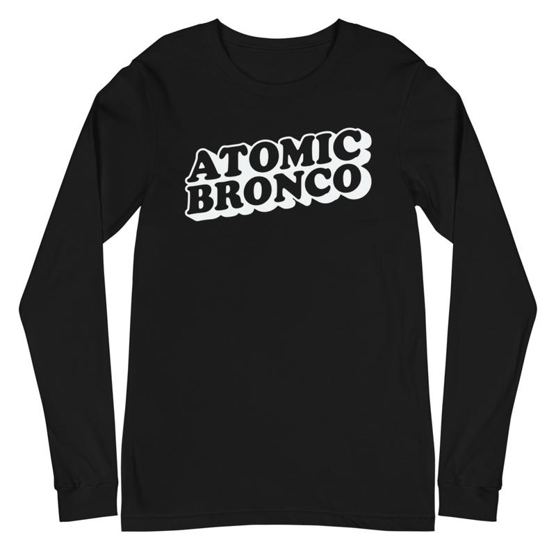Atomic Bronco White Logo Long Sleeve Tee