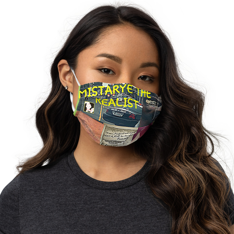 Premium face mask - Scripture Tablet