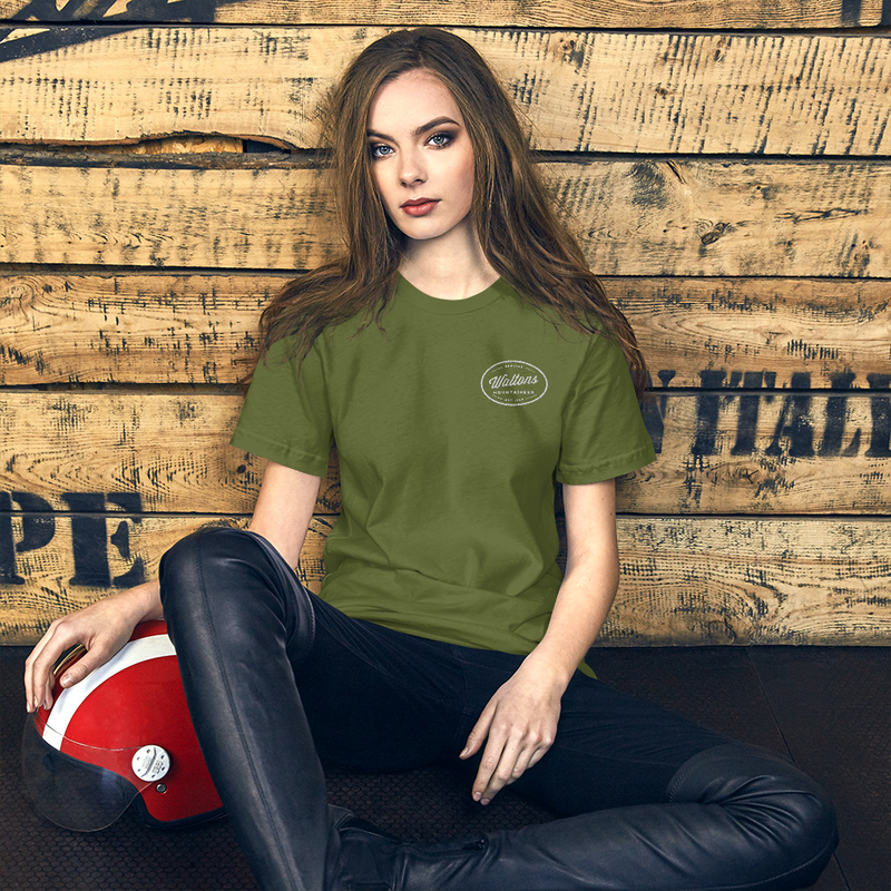 Mountaineers Embroidered Unisex T-Shirt