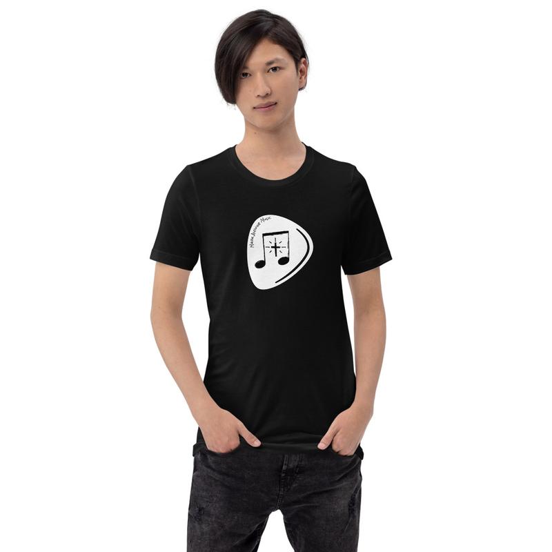 Premium Unisex | Bella+Canvas | Guitar Pick (white)