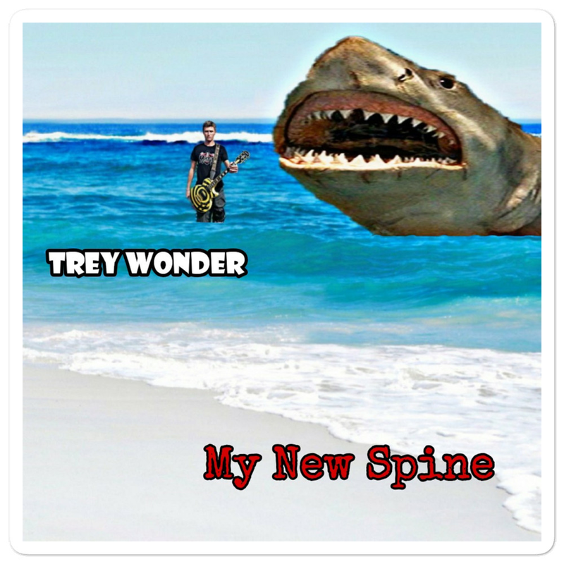 Trey Wonder - my new spine