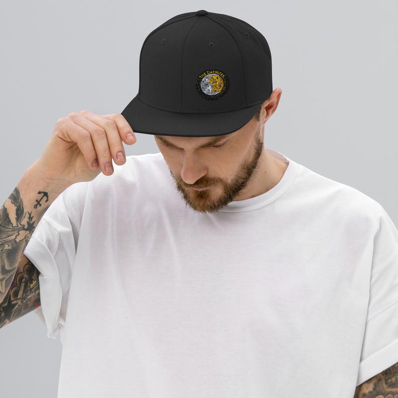 Logo Offset Snapback Hat