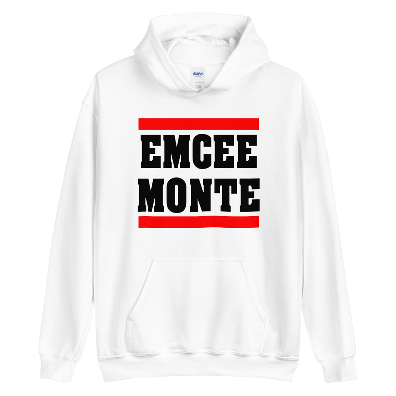 Emcee Monte Classic Logo Hoodie White